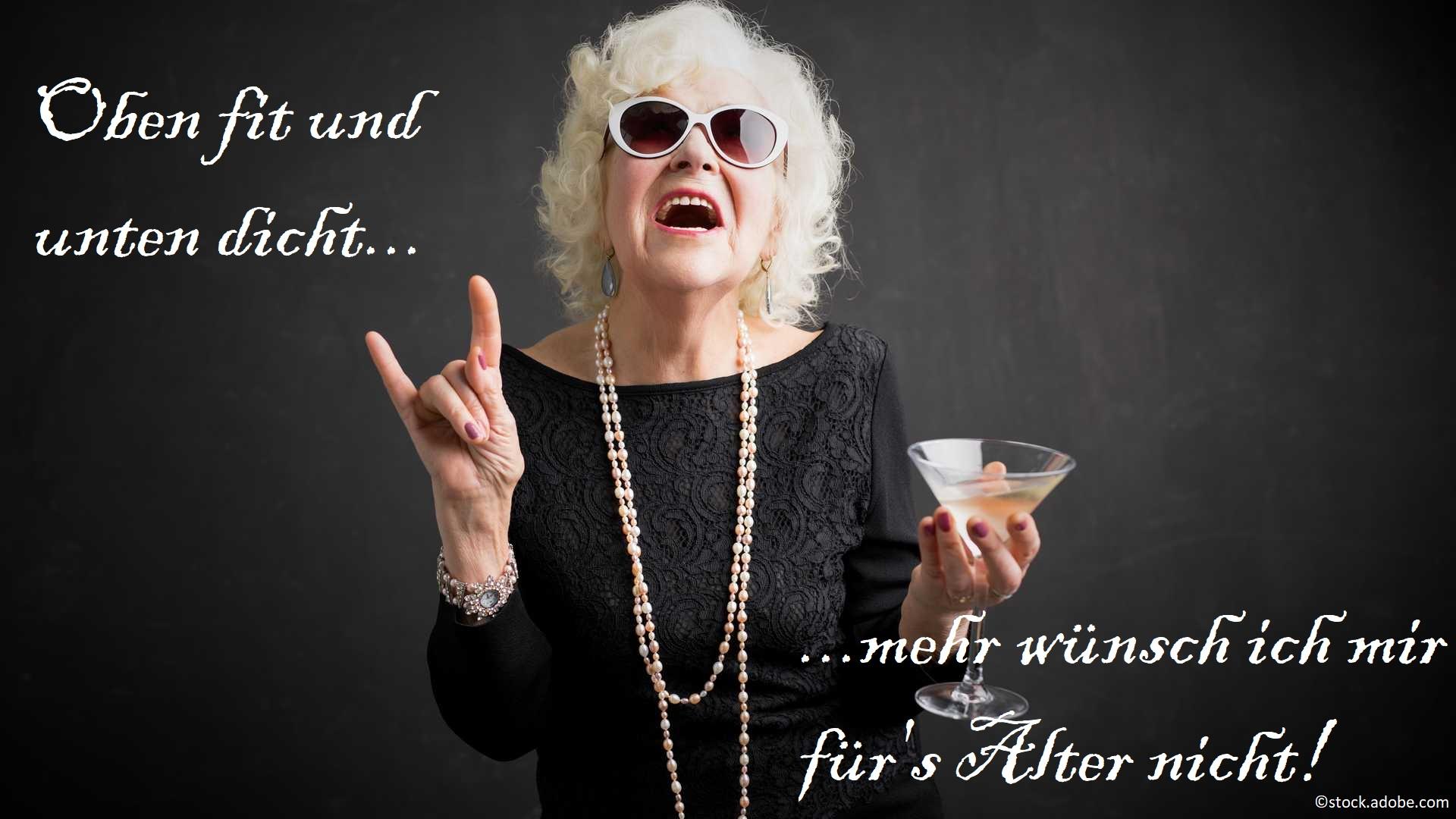 Altwerden Alter Oma Opa