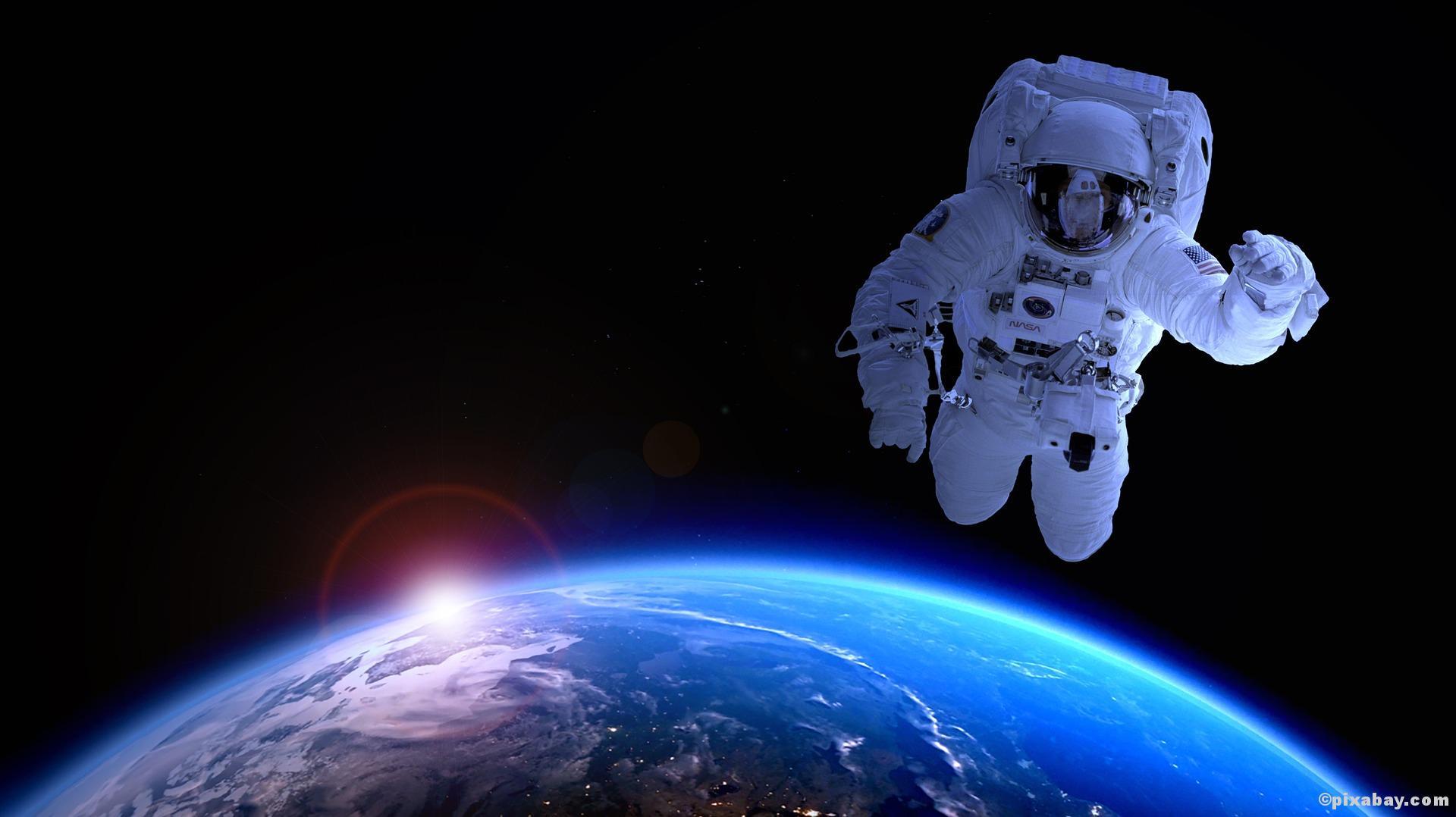 Wunderwerk Mensch! Wusstest du schon, dass ...Astronauten nach ihrer Rückkehr bis zu sieben Zentimeter gewachsen sind?