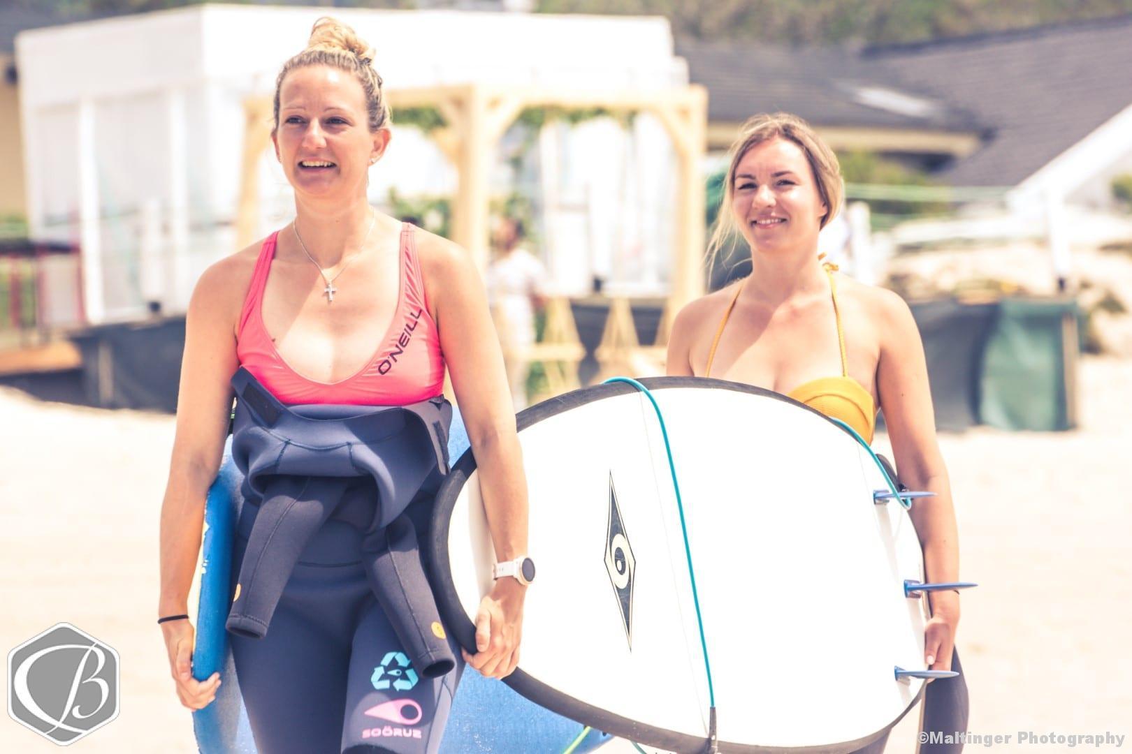Portugal Moledo Fitnessreise Sufen Wellenreiten