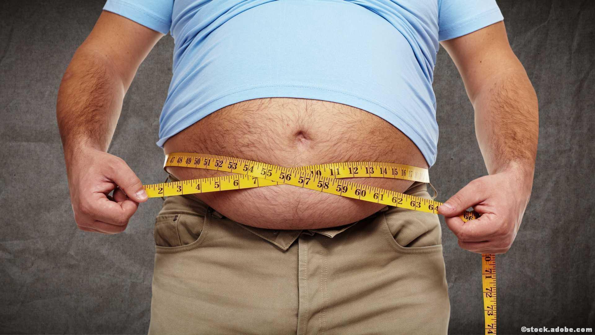 Abnehmen Diät zu dick
