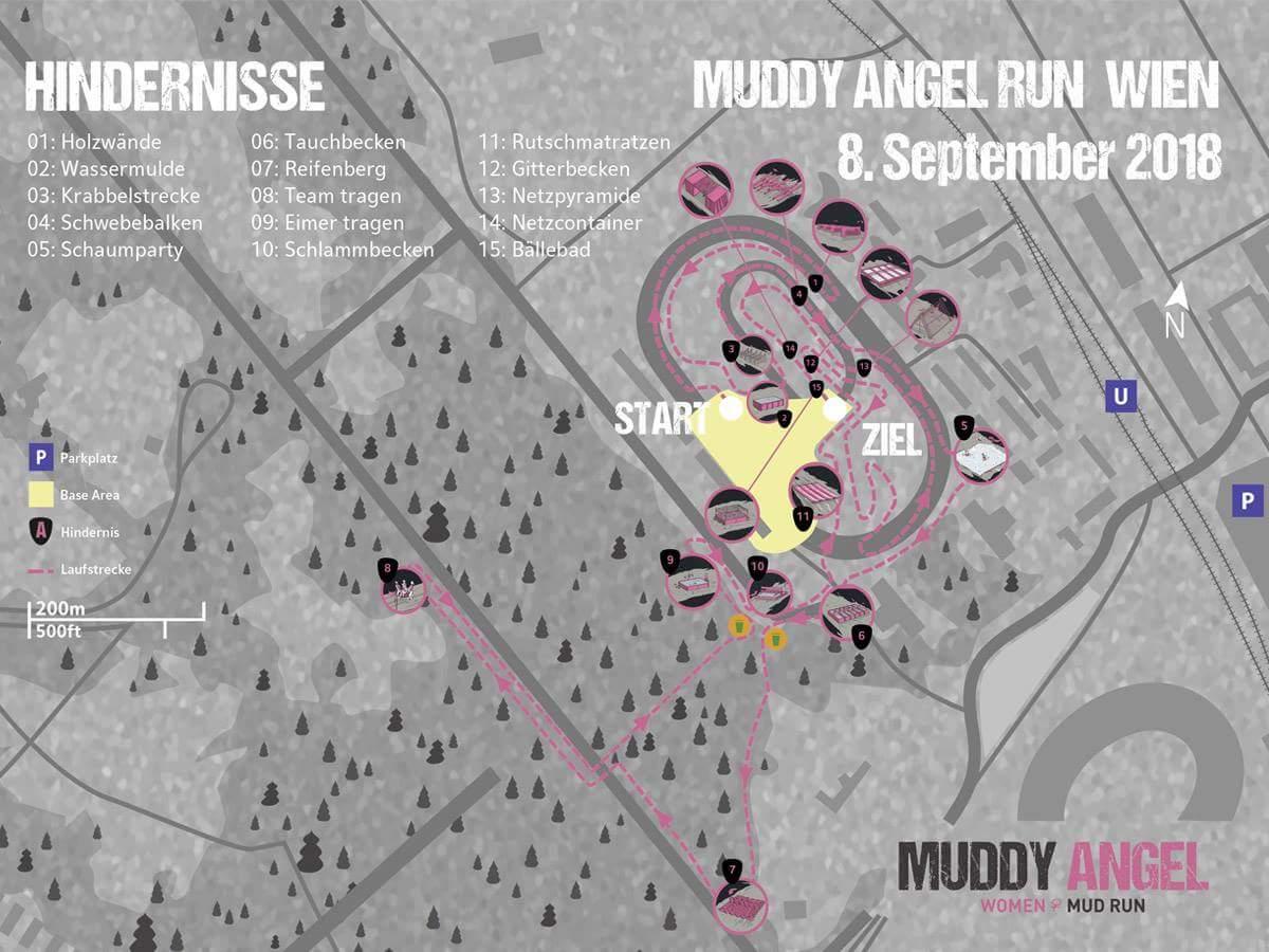 Obstacle Course Racing Muddy Angel Run Hindernislauf Schlamm Matsch Laufen