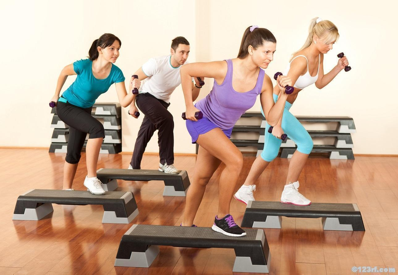 Groupfitness Step Fatkiller Workout