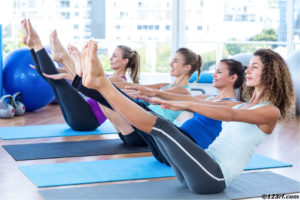 Pilates Groupfitness Fitnesskurs
