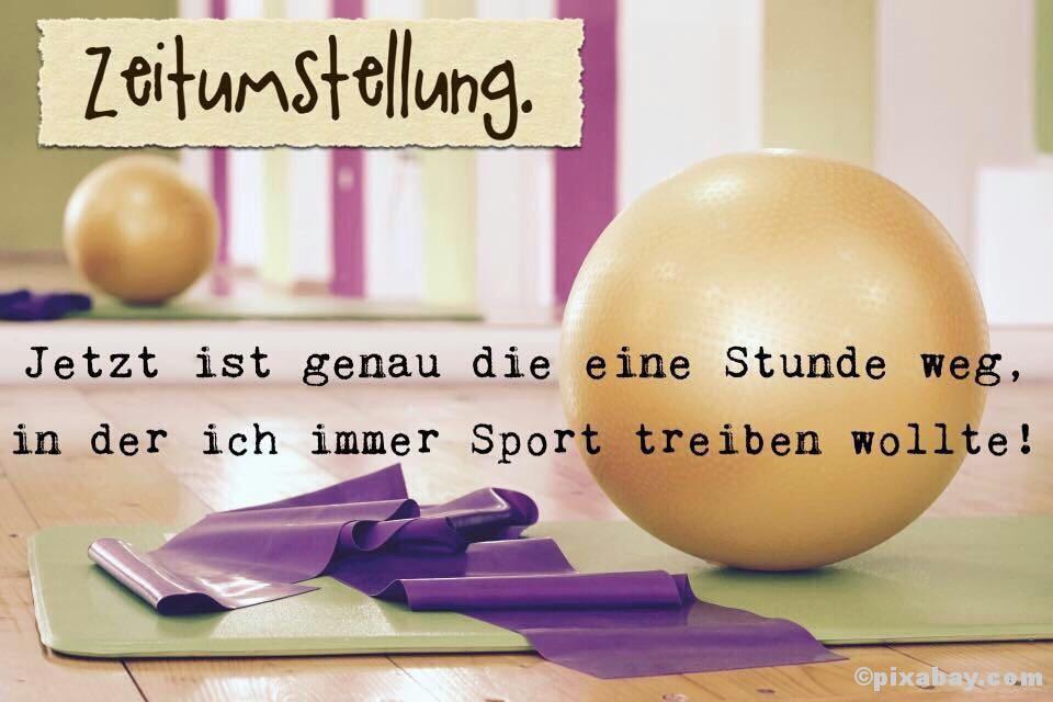 Zeitumstellung & Sport ©pixabay.com