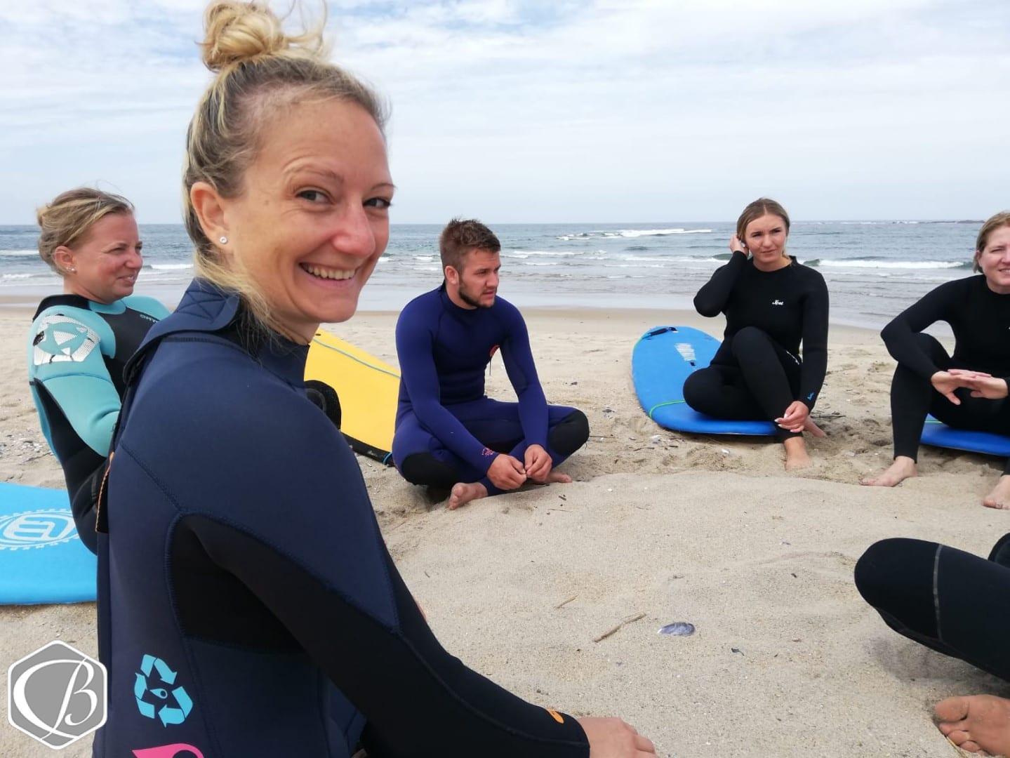 Portugal Moledo Fitnessreise Sporteventwoche Sufen Wellenreiten Meer