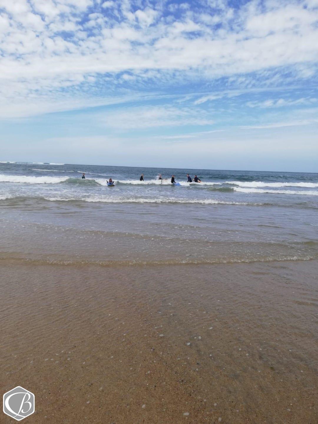 Portugal Moledo Fitnessreise Sufen Wellenreiten Meer