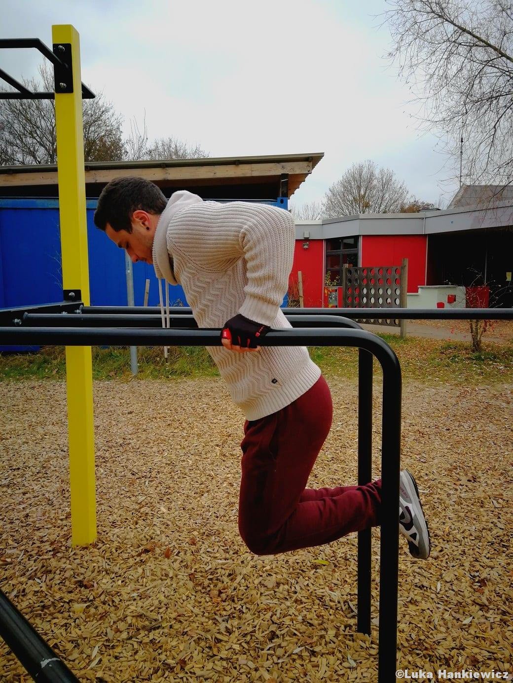 Calisthenics Dips Bodyweightübung Funktionelles Training