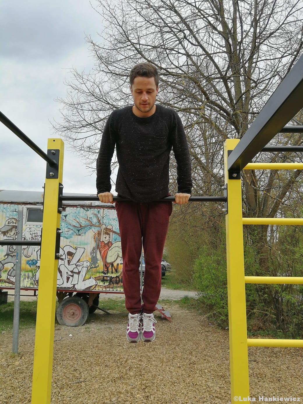 Calisthenics Muscle-Up Bodyweightübung Funktionelles Training