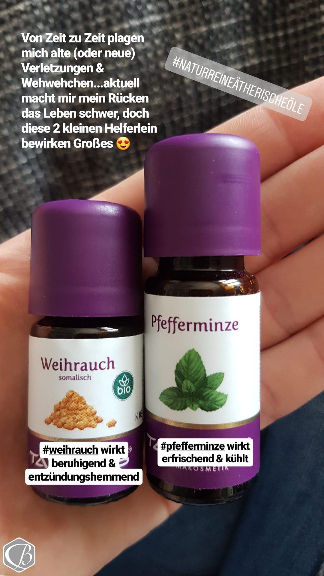 Weihrauch, Pfefferminze, Ätherische Öle