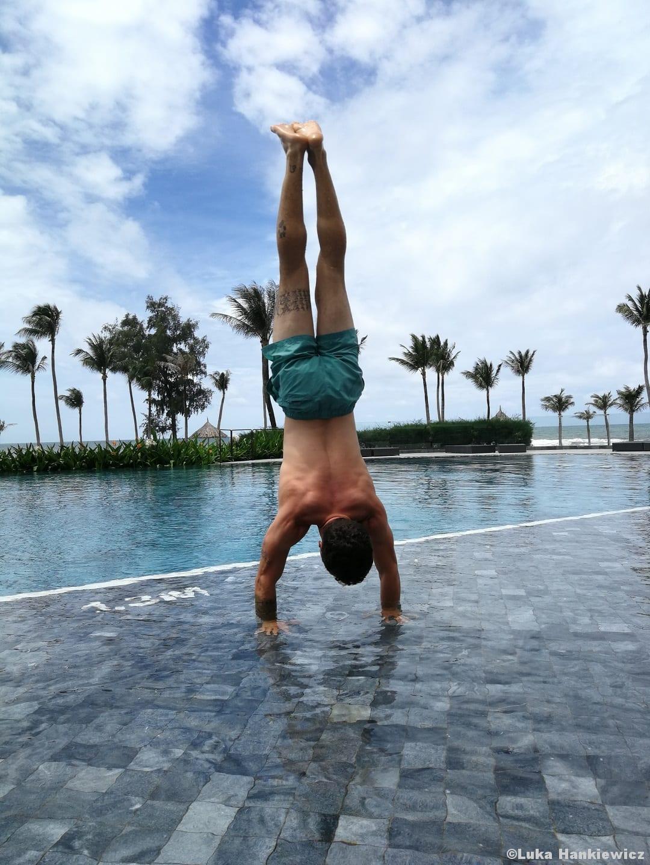 Calisthenics Handstand Bodyweightübung Funktionelles Training
