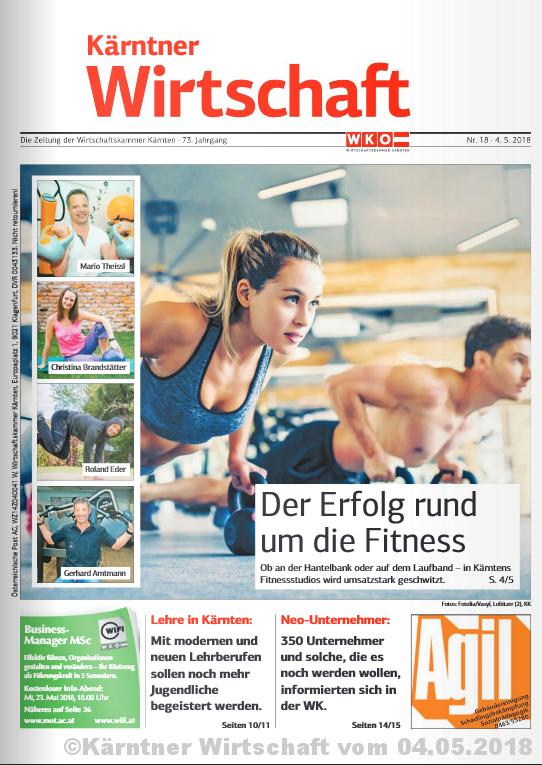Kärntern Wirtschaft Fitnessexperten Interview