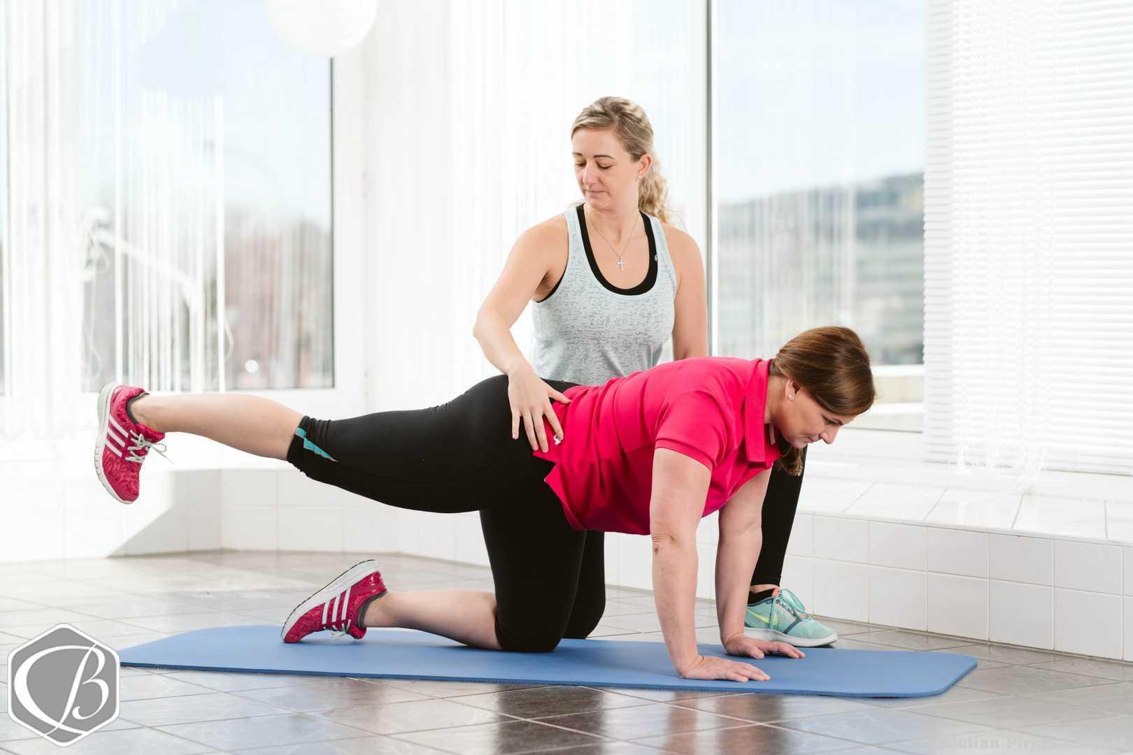 Christina Fitness e!Motion Personal Fitness Training Groupfitness Trainingsplanung Kinesio-Taping Firmenfitness