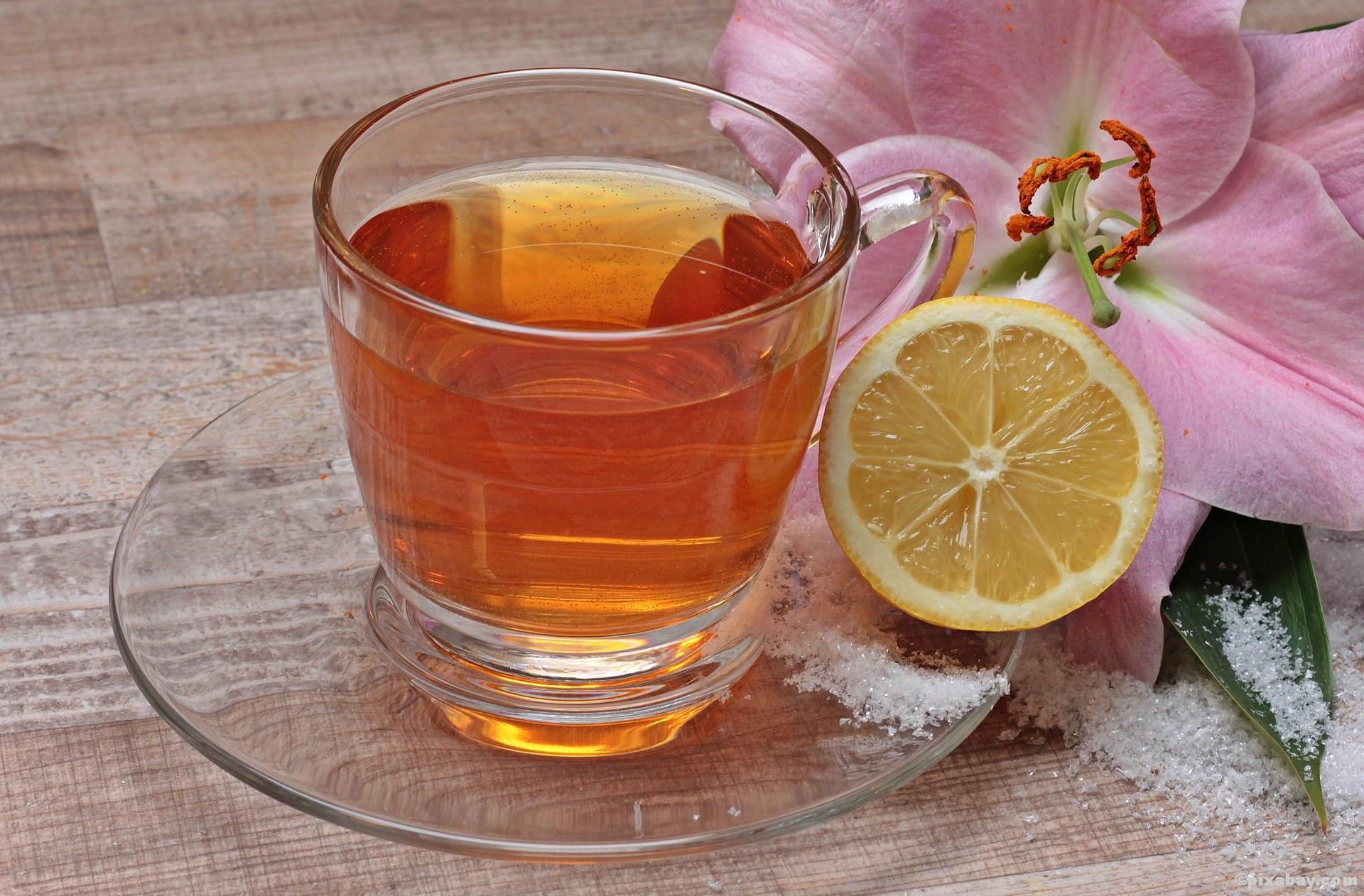 Tee Zitrone Erkältung