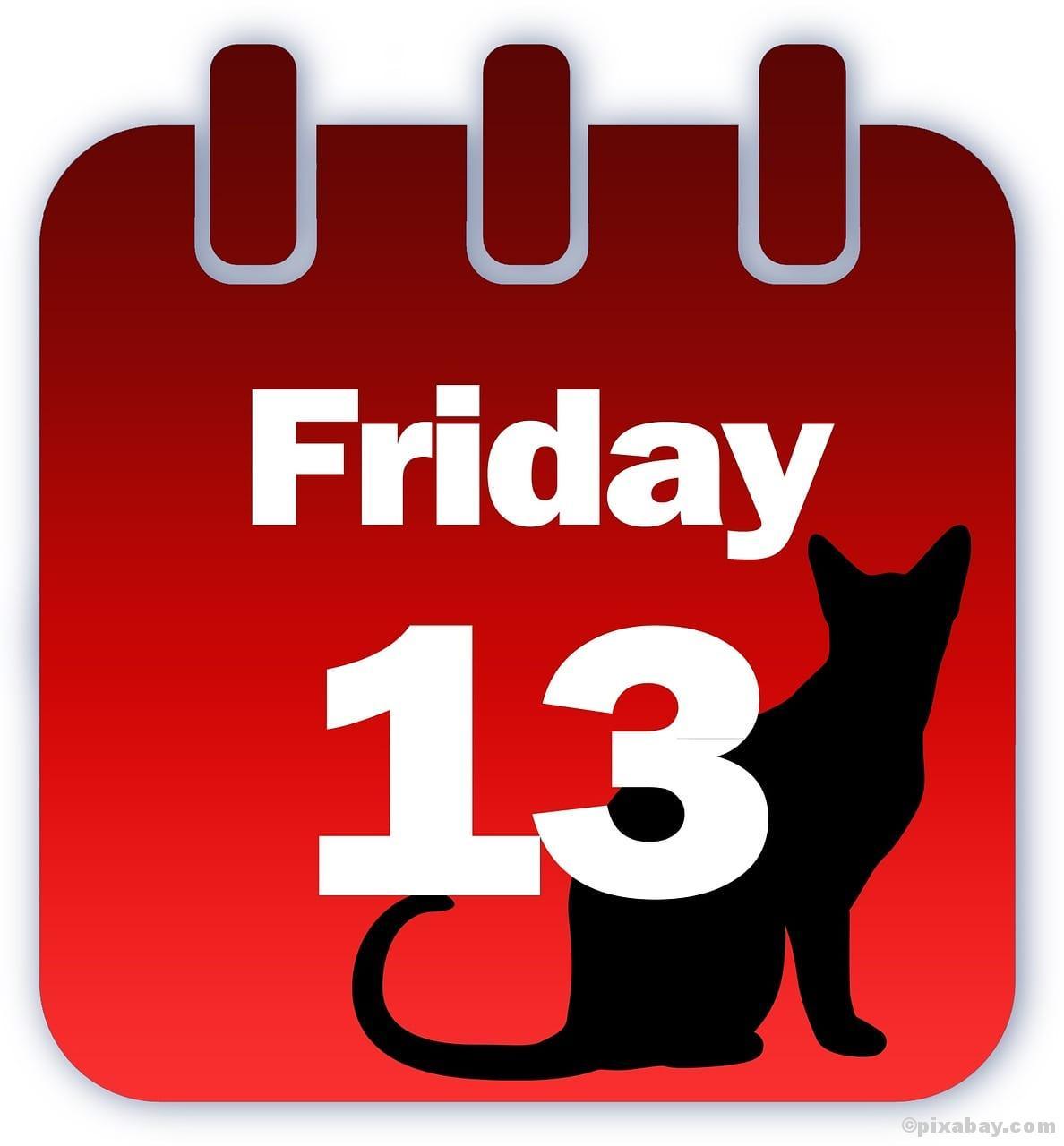 Freitag der 13, Aberglaube, schwarze Katze