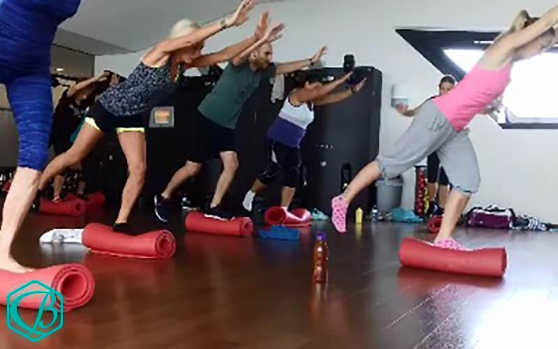 Fitness-Kurs Groupfitness